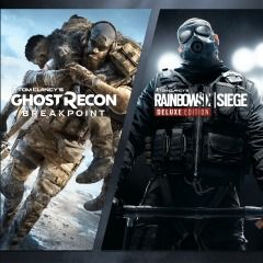Rainbow Six Siege and Ghost Recon Breakpoint Bundle